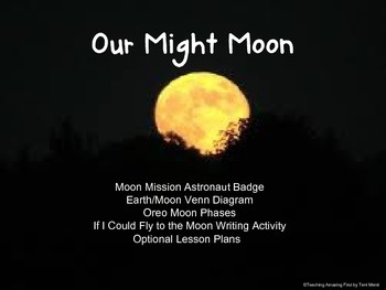 Our Mighty Moon Science Unit