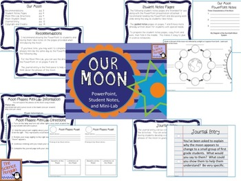 Moon Phases / Lunar Cycle PowerPoint