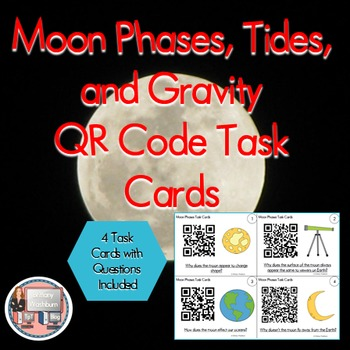 Our Moon QR Code Review Activities