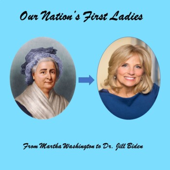 Women's History Month - Our Nation's First Ladies - a PowerPoint overview