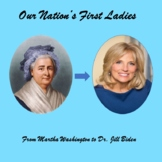 Women's History Month - Our Nation's First Ladies - a Powe