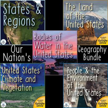 Our Nation's Geography Unit Bundle