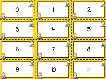 """Our Numbers Are """"Write"""":  LOW PREP Back to School Themed Bingo"""