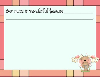 Our Nurse is Wonderful Because Book