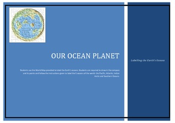 Our Ocean Planet - Labelling the Earth's Oceans
