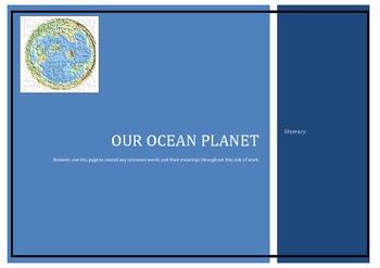 Our Ocean Planet - Ocean Glossary