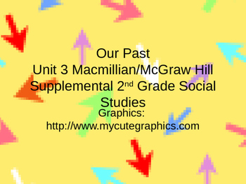 Our Past Grade 2 Macmillian/McGraw Hill We Live Together Social Studies Unit