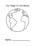 Our Place In The World Book (California Edition)