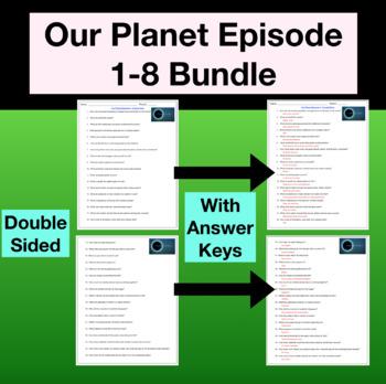 Our Planet NETFLIX Episodes 1-8 Bundle