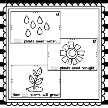 Our Plants- emergent reader
