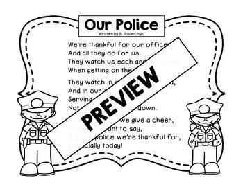 Our Police! Original Poem/Note for National Police Week!