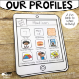 Our Profiles! {A Get to Know You Back to School Bulletin B