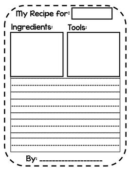 Our Recipe Book!