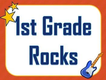 Our School Rocks! Printables