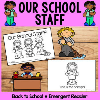 Our School Staff | Emergent Readers | Back to School