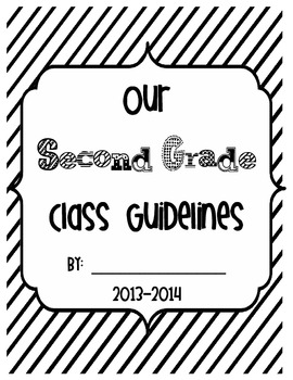Our Second Grade Class Guidelines