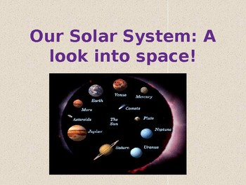 Our Solar System: A Look into Space!