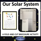 Our Solar System Brochure Activity