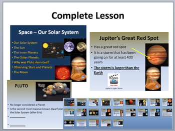 Our Solar System - Complete 5E Lesson Bundle