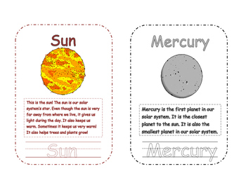 Our Solar System Mini Book Bundle