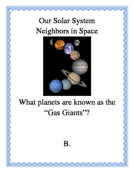Our Solar System Neighbors in Space