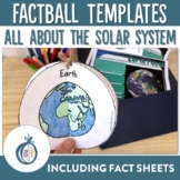 Our Solar System Factballs and Information Sheets