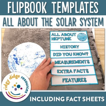 Our Solar System Planets Flipbooks and Information Sheets