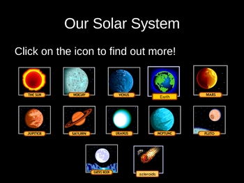 Our Solar System Power Point Presentation