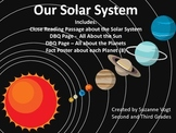 Our Solar System Reading Packet