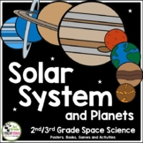 Solar System and Planets Unit plus FLIP Book (1st, 2nd, and 3rd Grades)