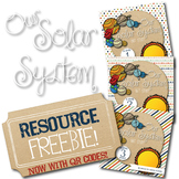 Solar System Unit Study Resources Page