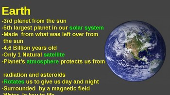 Our Solar System-planets 1-4