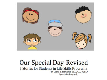 Our Special Day: Stories for Life Skills
