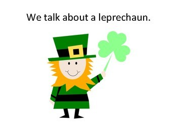 Our St. Patrick's Day Adventure Adapted Book