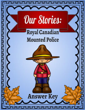 Our Stories: North West Mounted Police Lapbook