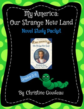 Our Strange New Land - Novel Study - Dear America - 50+ pages