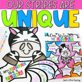 Our Stripes are Unique self-esteem activity