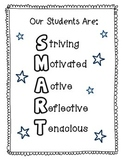 Our Students Are SMART Acronym Poster for Classroom
