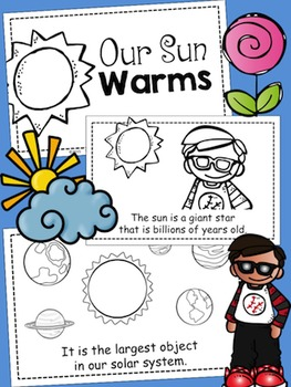 Our Sun Warms Emergent Reader {Build Your Own}