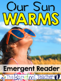Our Sun Warms Emergent Reader {Build Your Own} (Distance Learning)