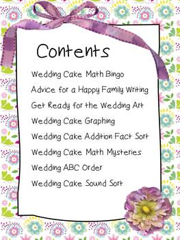Our Teacher is Getting Married! An Educational Bridal Shower for K-2 Kids!