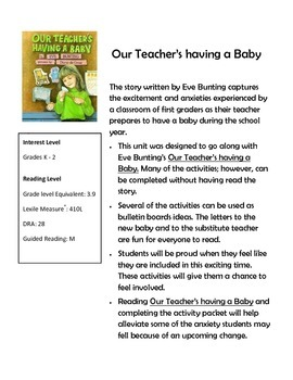 Our Teacher is having a Baby
