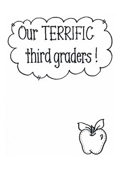 Our Terrific Third Graders!