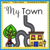 Our Town  (5-day Unit) Preschool Pre-K Kindergarten Curriculum