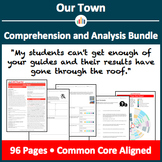Our Town – Comprehension and Analysis Bundle