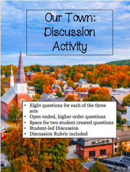 Our Town: Discussion Activities for Acts 1-3