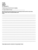 Our Town Essay Final Test