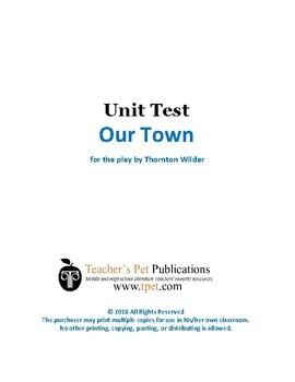 Our Town Unit Test