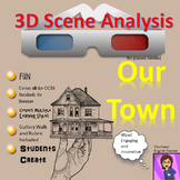 Our Town by Thornton Wilder: 3D Scene Analysis Project Diorama:  Standards Based