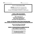 Our Town by Thornton Wilder Act 3 Comprehension Questions